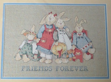 Dimensions 3653 Country Bunnies