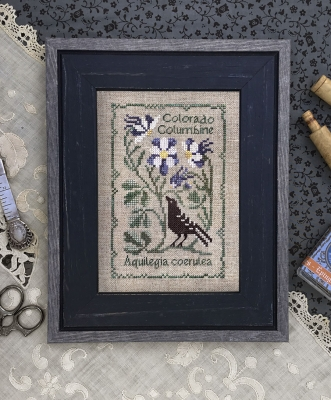 The Drawn Thread Colorado Columbine - Botanical Stitches