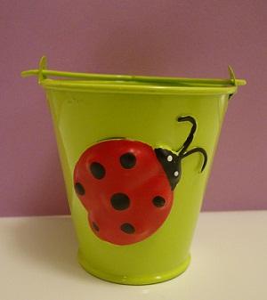 Ladybug pail, 44087