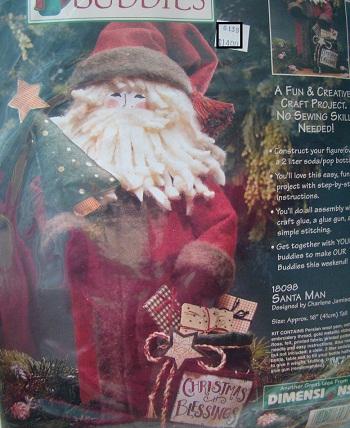 Dimensions 18098 Santa man