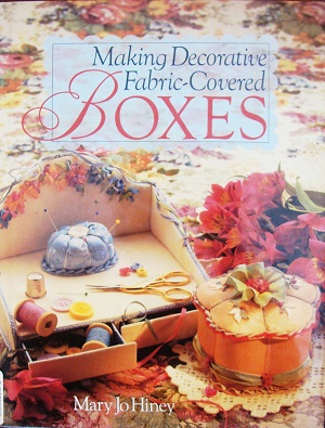 Making decorative fabric-covered Boxes