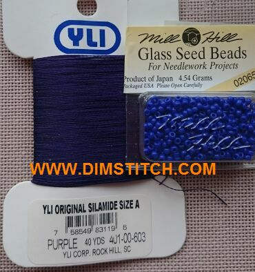 YLI Bead Thread-Purple