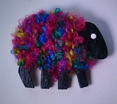 Multi-colored sheep