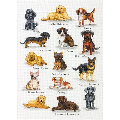 Dimensions 35353 Dog sampler