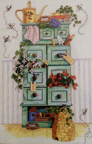 Sunset 13651 Gardening chest