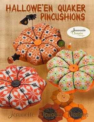 Jeannette Douglas Designs Halloween Quaker Pincushions