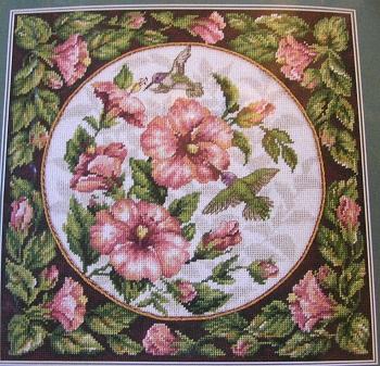 Dimensions 2448 Hummingbird floral
