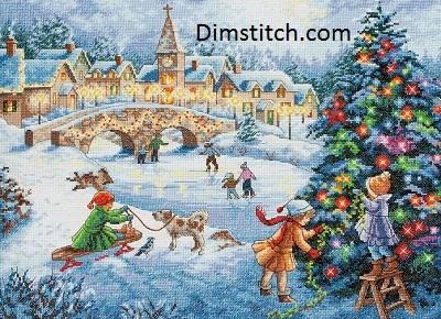 Dimensions 08919 Winter celebration