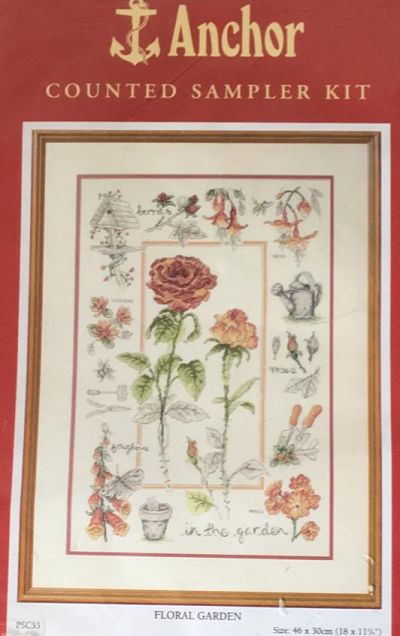 Anchor PSC53 Floral Garden