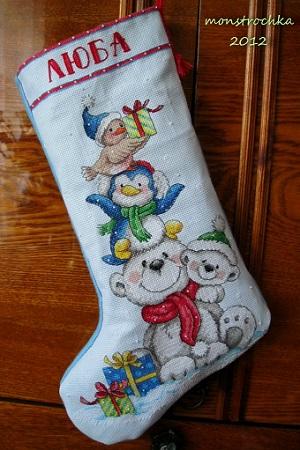 Anna's stockings