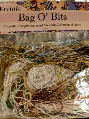 Bag O' Bits Metallic Thread BIG