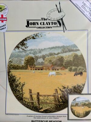 John Clayton Heritage Crafts Buttercup Medow