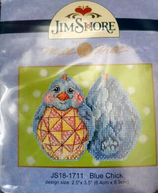 Mill Hill JS181711 Blue Chick