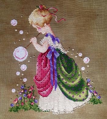 Isabella's Garden stitched