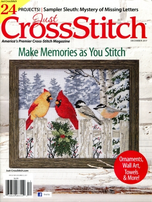 Just Cross Stitch Magazine November/December 2017