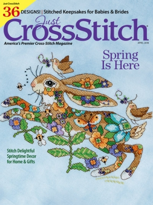 Just Cross Stitch Magazine March/April 2018