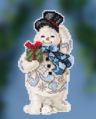 Mill Hill/Jim Shore JS202011 Gift Giving Snowman