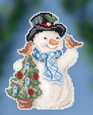 Mill Hill/Jim Shore JS202012 Feathered Friends Snowman