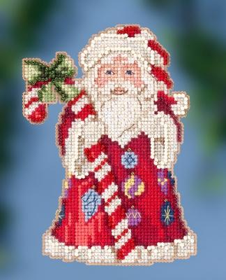 Mill Hill/Jim Shore JS202016 Candy Cane Santa