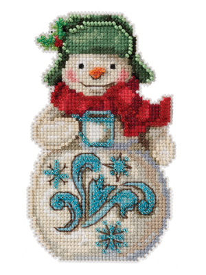 Jim Shore JS202114 Snowman with Cocoa