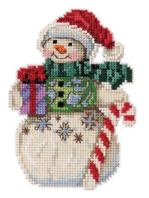 Jim Shore JS202116 Snowman with Candy Cane
