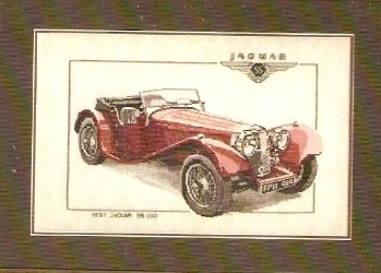 Heritage SS100 Jaguar 1937