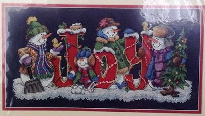 Dimensions 8690 Joyful Snowmen