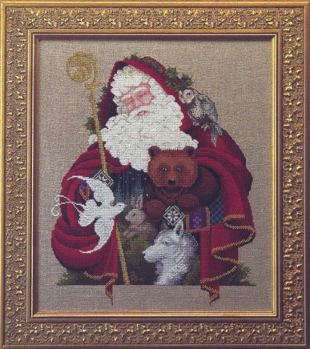 Lavender & Lace LL21 Santa of the Forest