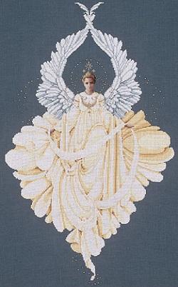 Lavender & Lace LL43 Peace Angel