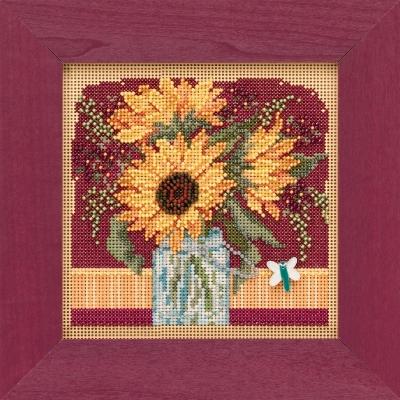 Mill Hill MH141924 Sunflower Bouquet