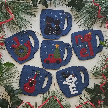 Rachel's of Greenfield Merry Mugs