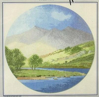 John Clayton Heritage Crafts Mountains and lake