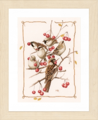 Lanarte PN162298 Sparrows and currant
