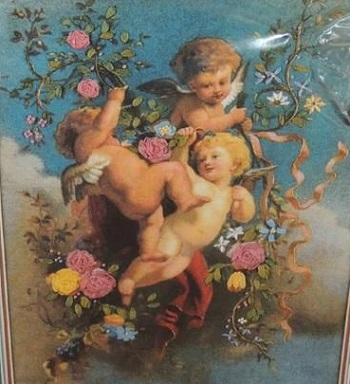 Dimensions 1496 Playful cherubs