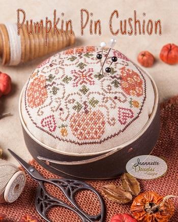 Jeannette Douglas Designs Pumpkin Pincushion
