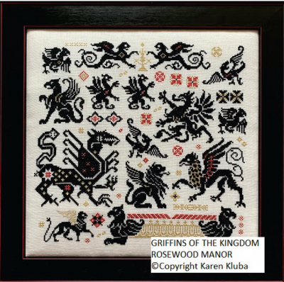 Rosewood Manor Griffins of the Kingdom