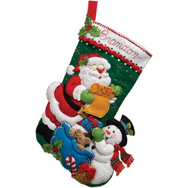 Bucilla 86360 Santa's list