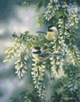 Kustom Krafts 9701 Springtime jewels-Chickadees