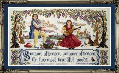 Tempting Tangles Summer Duet