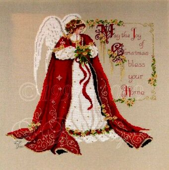 Passione Ricamo, RL07,The Xmas Blessing Angel