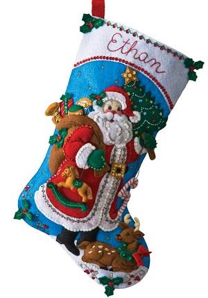 Bucilla 86409 Traditional Santa