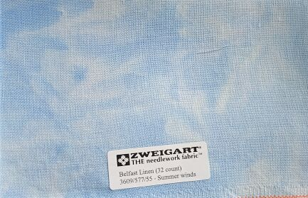 Zweigart Belfast Linen Summer Winds 32ct