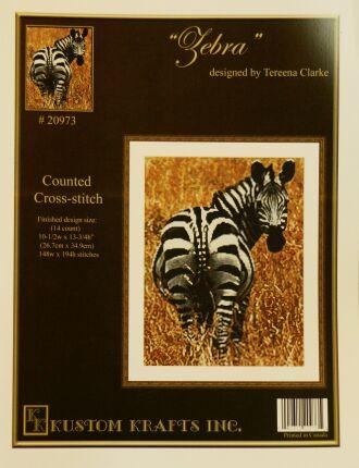 Kustom Krafts 20973 Zebra