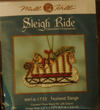 Mill Hill MH 161733 Toyland Sleigh
