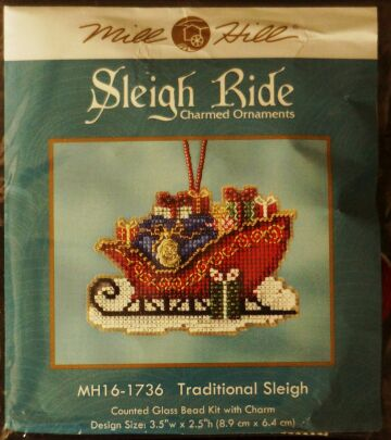 Mill Hill MH 161736 Traditional Sleigh