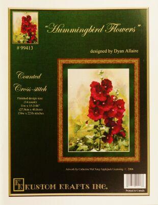 Kustom krafts 99413 Hummingbird Flowers
