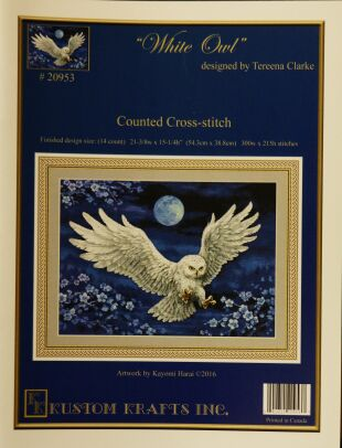 Kustom krafts 20953 Winter Owl
