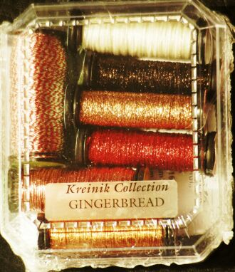 Kreinik collection Gingerbread