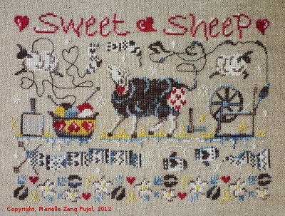 Filigram Sweet sheep