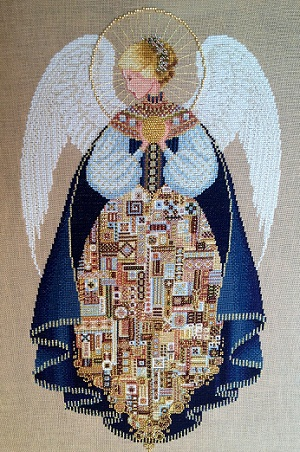 Angel of Love stitched